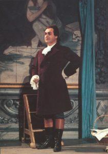 Jussi Björling som Cavaradossi i Tosca.