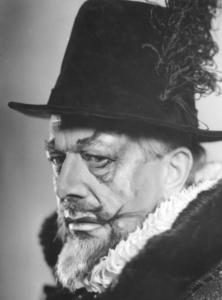 Som Filip II i Don Carlos av G. Verdi. Foto: Enar Merkel Rydberg.